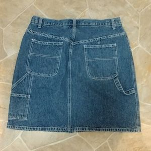 Real Comfort by Chadwick's Carpenter Jean Skirt